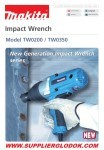 MAKITA TW0200 /TWO350 (Impact Wrech)