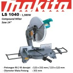 "MAKITA LS 1440( Compund Miter Saw 14"")"