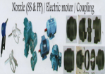 Nozzle/Electric Motor/Coupling
