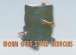 Worm Gear Speed Reducers TSF