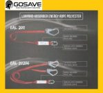 GOSAVE Lanyard Absorber Energy Rope Polyester