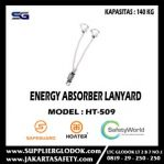 Energy Absorber Lanyard Double Hook Safeguard type HT-509