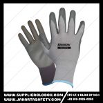 Krisbow Glove Nylon Nitril Mechanical Greasy PAA